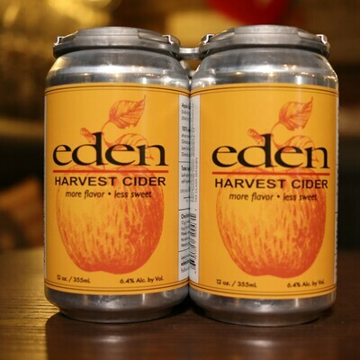 Eden Harvest Cider 12 FL. OZ. 4PK Cans