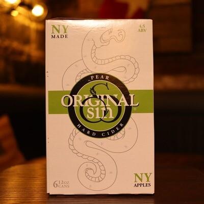 Original Sin Pear Cider 12 FL. OZ. 6PK Cans