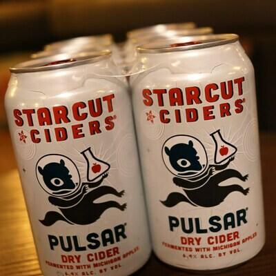 Starcut Cider Pulsar Dry 12 FL. OZ. 6PK Cans