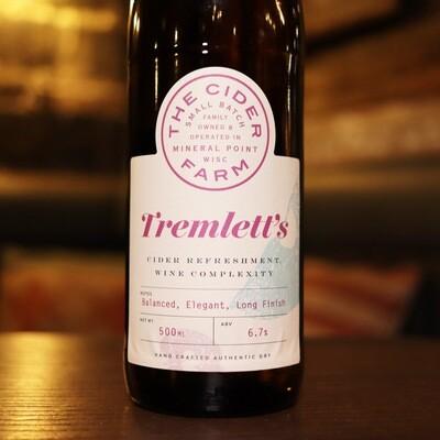 The Cider Farm Tremlett's Dry 500ml.