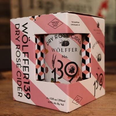 Wolffer Cider Dry Rose 10 FL. OZ. 4PK Cans