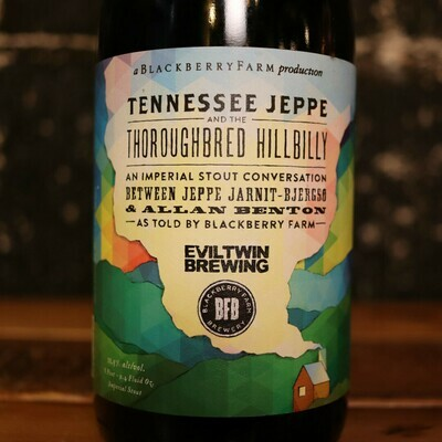 Blackberry Farm Tennessee Jeppe Thoroughbred Hillbilly Imp. Stout 25.4 FL. OZ.