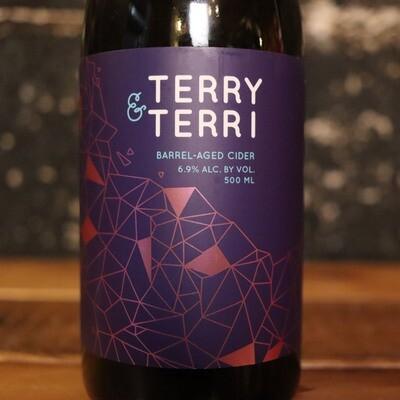 Overgrown Cider Terry & Terri 500ml.
