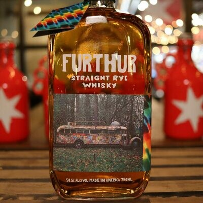 Furthur Straight Rye Whisky 750ml.