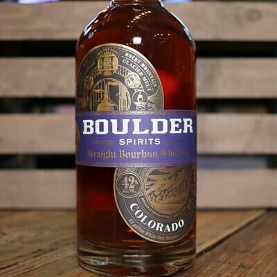 Boulder Bourbon Whiskey COLORADO 750ml.
