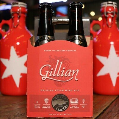 Goose Island Gillian Strawberry Sour Ale 12 FL. OZ. 4PK