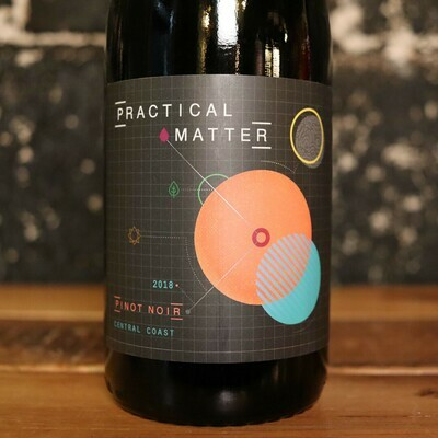 Practical Matter Pinot Noir Central Coast California 750ml.