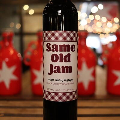 Misbeehavin Same Old Jam Black Cherry & Grape 375ml.