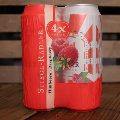 Stiegl Radler Raspberry 16.9 FL. OZ. 4PK Cans