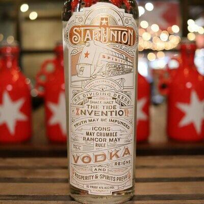 Star Union Vodka 750ml.