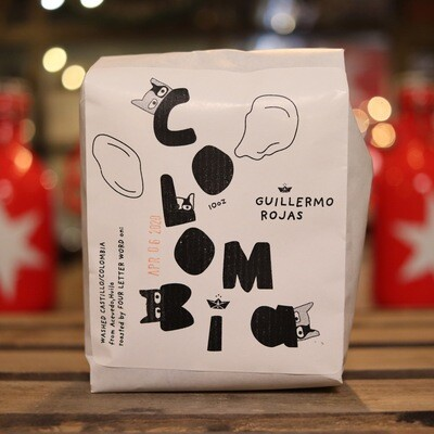 Four Letter Word Colombian Washed Whole Bean Coffee 10oz Bag