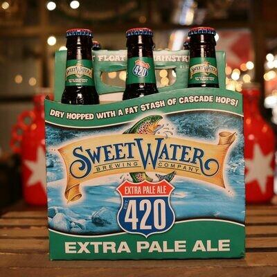 Sweet Water 420 Extra Pale Ale 12 FL. OZ. 6PK