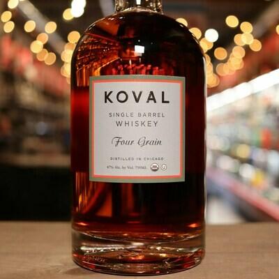 Koval Whiskey Four Grain 750ml.