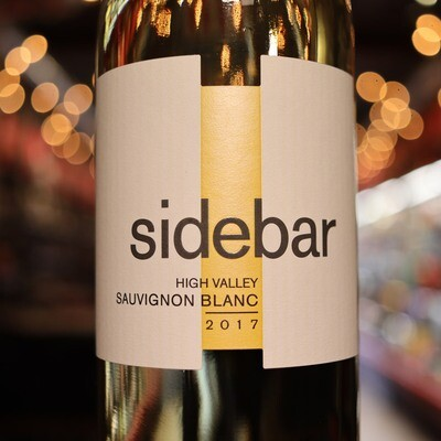 Sidebar Sauvignon Blanc California 750ml.