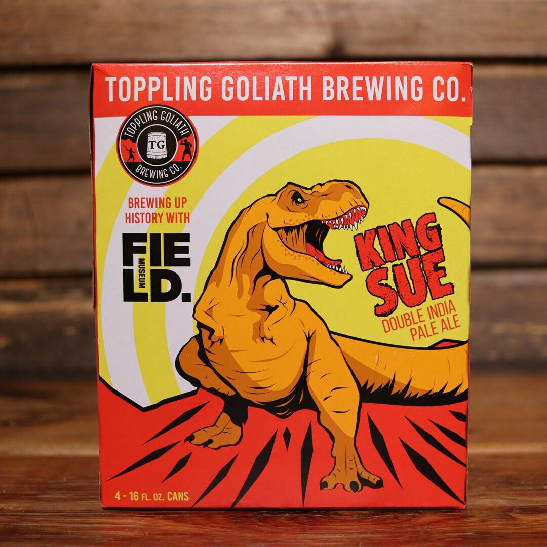Toppling Goliath King Sue DIPA 16 FL. OZ. 4PK Cans