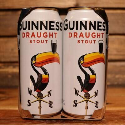 Guinness Draught Stout 14.9 FL. OZ. 4PK Cans