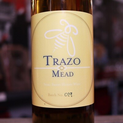 Trazo Mead Jamaican Rum Barrel Aged Wildflower Mead 750 ml.