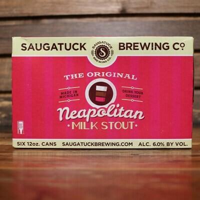 Saugatuck Neapolitan Milk Stout 12 FL. OZ. 6PK Cans