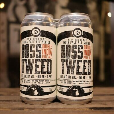 Old Nation Boss Tweed DIPA 16 FL. OZ. 4PK Cans