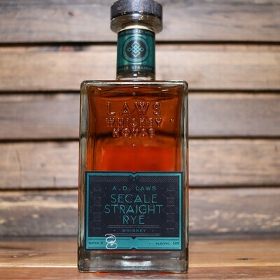 Laws Whiskey House Secale Straight Rye Whiskey 750ml