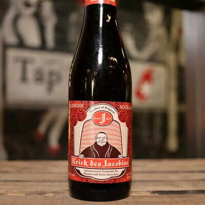 Kriek Des Jacobins Flanders Sour Ale 11.2 FL OZ