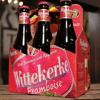 Wittekerke Frambroise Raspberry Belgain Wheat 11.2 FL. OZ. 6PK