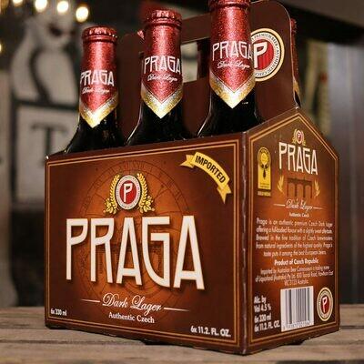 Praga Dark Lager 11.2 FL. OZ. 6PK