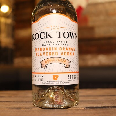 Rock Town Mandarin Orange Vodka 740ml.