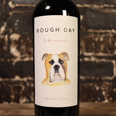 Rough Day Cabernet Sauvignon Bulgaria 750ml.