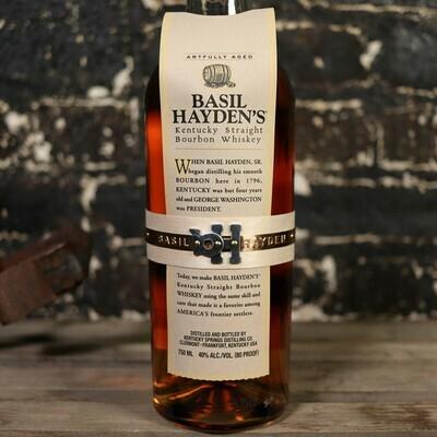 Basil Hayden's Kentucky Straight Bourbon Whiskey 750ml.