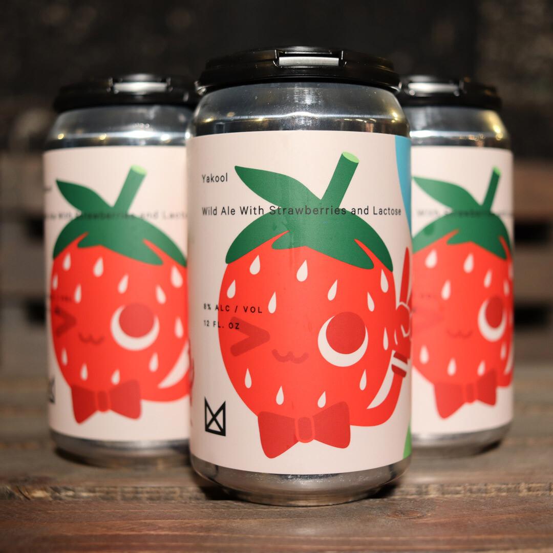 Marz Yakool Wild Ale w/Strawberry & Lactose 12 FL. OZ. 4PK Cans