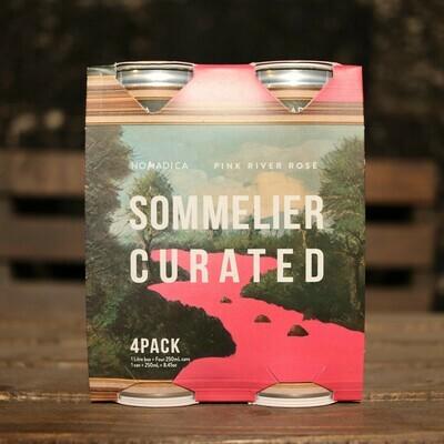 Nomadica Pink River Still Rosé (Pinot Noir/ Syrah/ Grenache/ Cinsault) California 250 FL. OZ. 4PK Cans