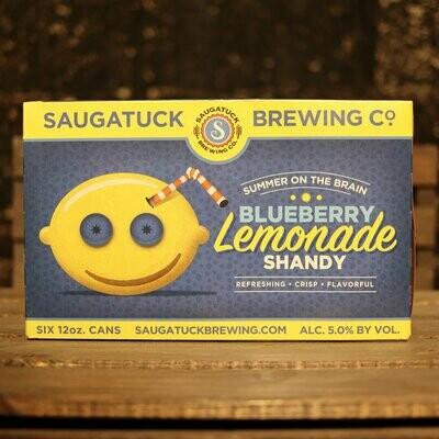 Saugatuck Blueberry Lemonade Shandy 12 FL. OZ. 6PK Cans