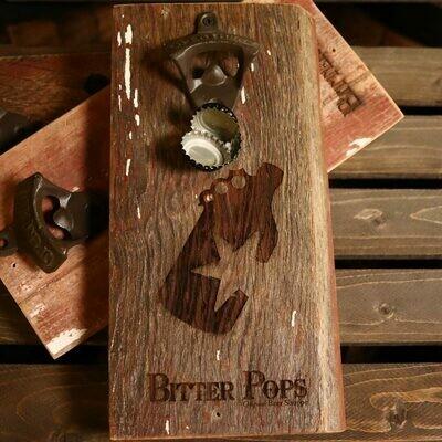 Bitter Pops Wall Mounted Bottle Opener