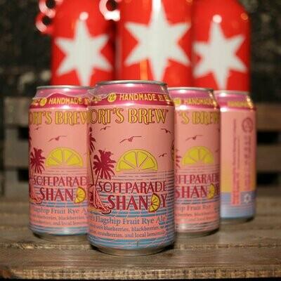 Short's Soft Parade Shandy 12 FL. OZ. 6PK Cans