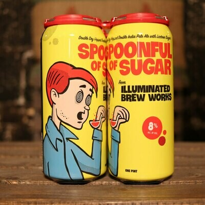 Illuminated Spoonful Of Sugar DDH DIPA 16 FL. OZ. 4PK Cans