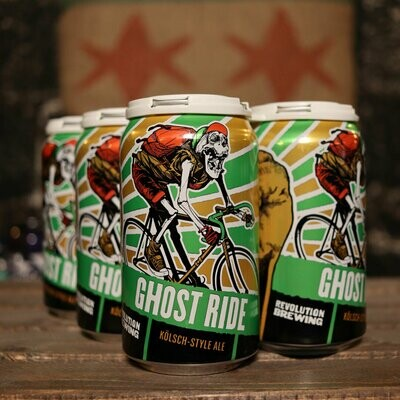 Revolution Ghost Ride Kolsch-Style Ale 12 FL. OZ. 6PK Cans