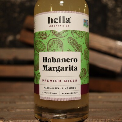 Hella Habanero Margarita Mix 750ml.
