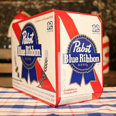 Pabst Blue Ribbon Lager 12 FL. OZ. 12PK Cans