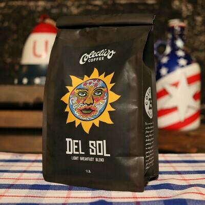 Colectivo Del Sol Light Breakfast Blend 16 OZ. Bag