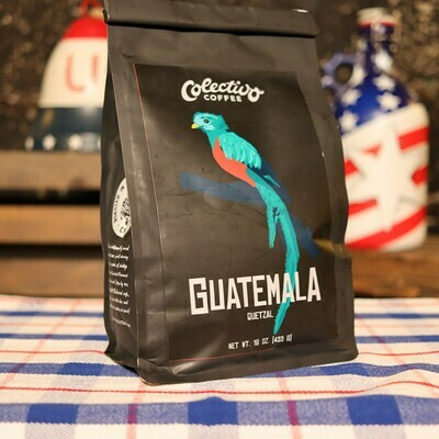 Colectivo Guatemalla Quetzal 16 OZ. Bag