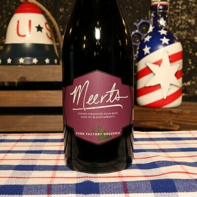 Funk Factory Geuzeria Black Currant Meerts 750ml.