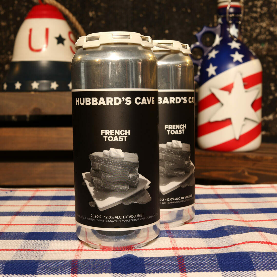 Hubbard's Cave French Toast Imperial Stout 16 FL. OZ. 2PK Cans