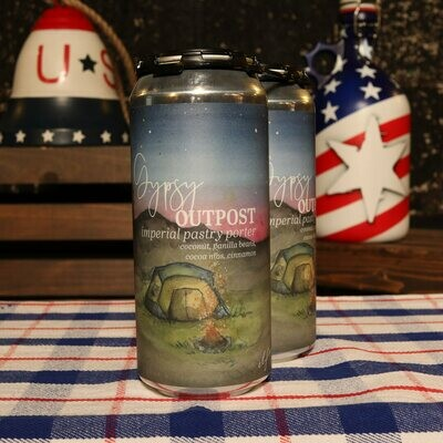 Humble Forager Gypsy Outpost Imperial Pastry Porter 16 FL. OZ. 2PK Cans