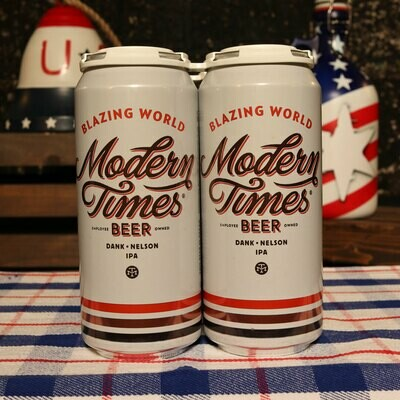 Modern Times Blazing Times Dank Nelson IPA 16 FL. OZ. 4PK Cans