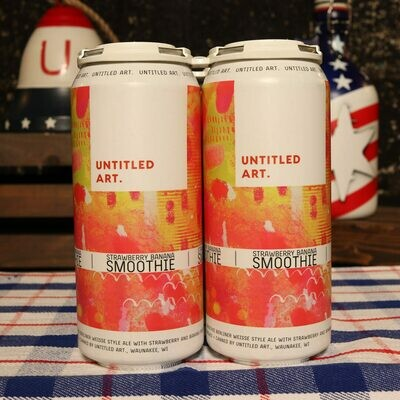 Untitled Art Strawberry-Banana Smoothie 16 FL. OZ. 4PK Cans