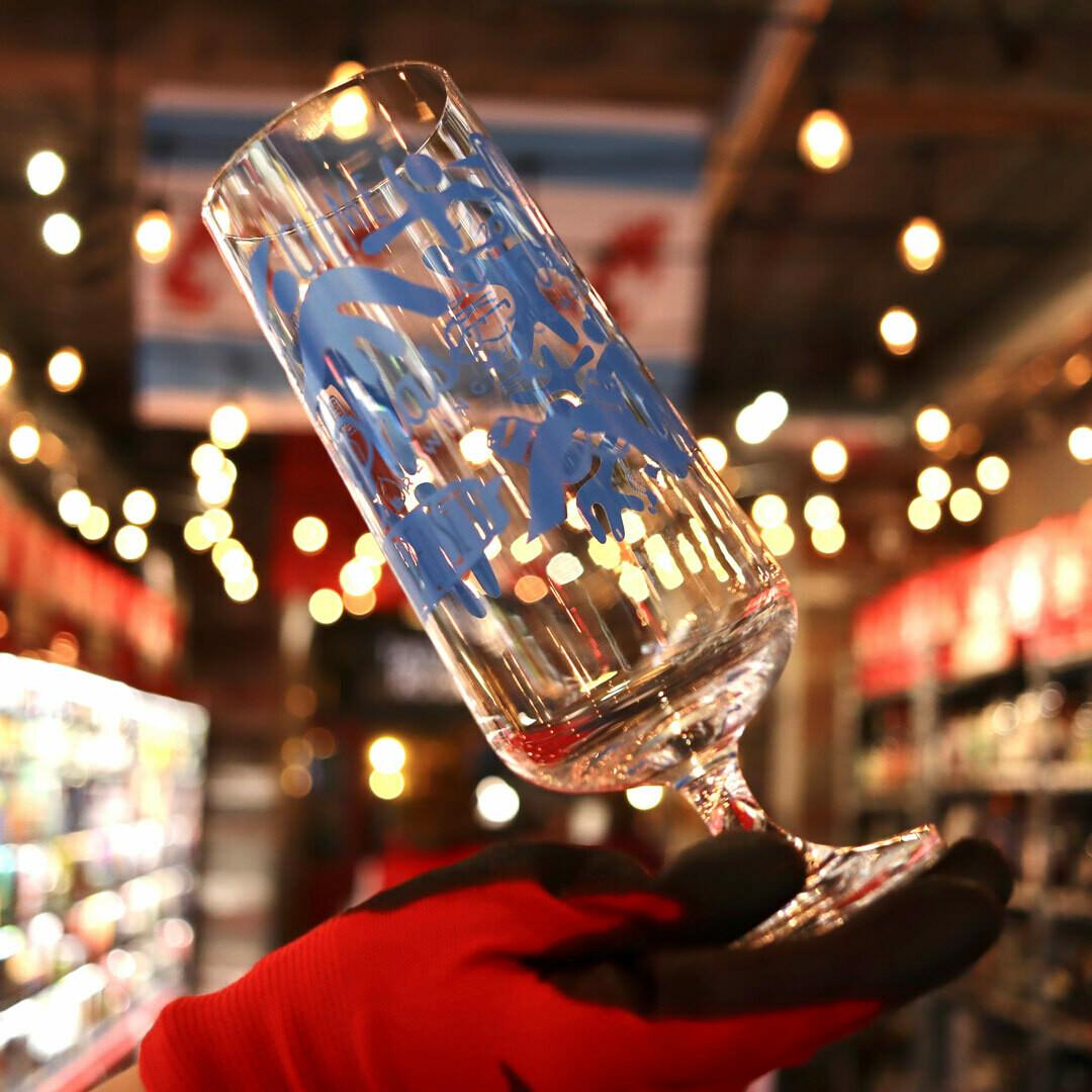 Phase Three 18oz Printed Glass 1 EA.