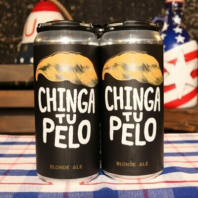 5 Rabbit Chinga Tu Pelo Blonde Ale 16 FL. OZ. 4PK Cans