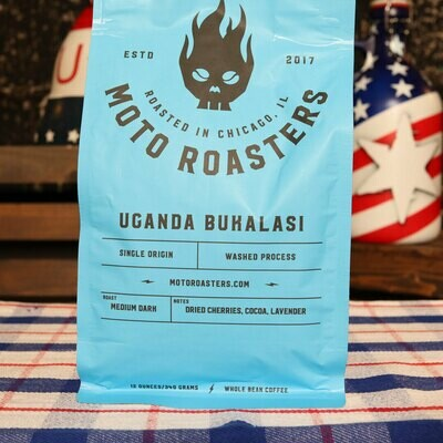 Moto Roasters Original Roast Bukulasi WHOLE BEAN 12 OZ.