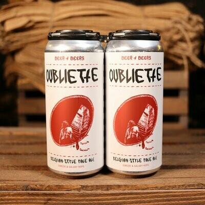 Solemn Oath Oubliette Belgian-Style Pale Ale 16 FL. OZ. 4PK Cans